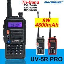 "Baofeng иди и болтай walkie talkie ""иди uv 5r pro трехдиапазонное"