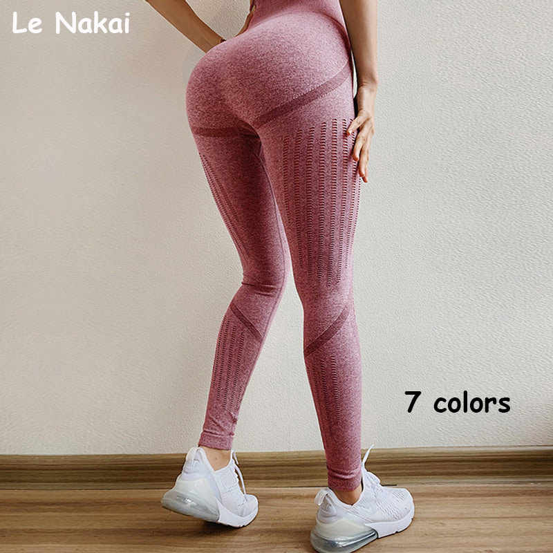 Hoge taille energie naadloze leggings super rekbare yoga legging push up yoga broek workout gym leggings athletic sport legging