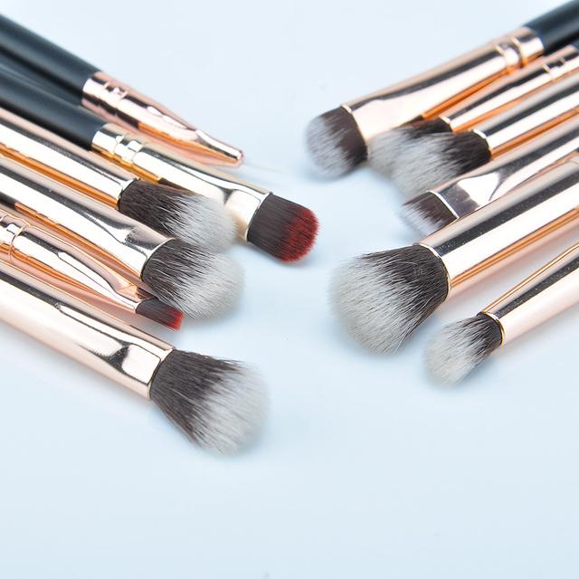12 piezas de sombra de ojos maquillaje cepillo – NoSinMisJoyas