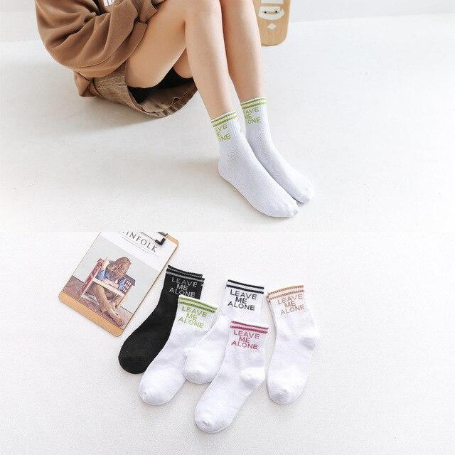 Meias femininas engraçado meias coreano harajuku kawaii rosa streetwear alta elasticidade desodorante impresso casual all-match estudantes chique