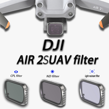 For DJI Mavic Air 2S Combo Lens Filter CPL ND4 ND8 ND16 ND32 ND64 Filters Accessories For DJI Mavic Air 2S Camera Accessories