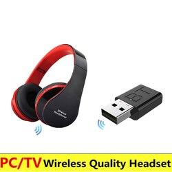 Новые и Высококачественные беспроводные наушники 5 в 1, часы, ТВ-наушники, Беспроводная Bluetooth гарнитура для MP3, ПК, стерео, ТВ, iPod