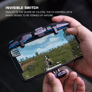 GameSir F4 Falcon Mobile Game Controller PUBG Gamepad Plug and Play for iOS / Android Zero Latency for Call of Duty