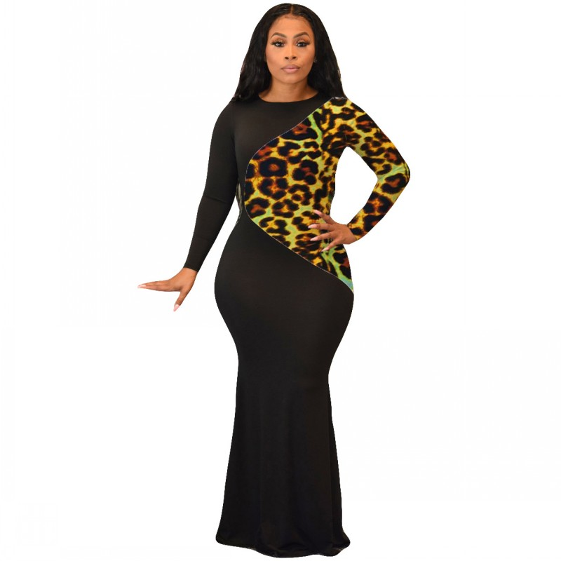 African Dresses For Women 2020 New African Women Clothing Fashion Africaine Robe Long Maxi Dress Long Sleeve Africa Clothes