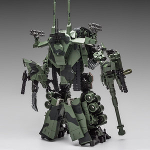 Image 4 - WJ Transformation Toys Brawl Alloy 28CM SS Leader Camouflage M04 Tank M1A1 Mode KO Action Figure Robot Model Collection Gifts