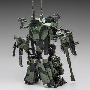 Image 4 - WJ dönüşüm oyuncaklar Brawl alaşım 28CM SS lider kamuflaj M04 tankı M1A1 modu KO aksiyon figürü Robot modeli koleksiyonu hediyeler