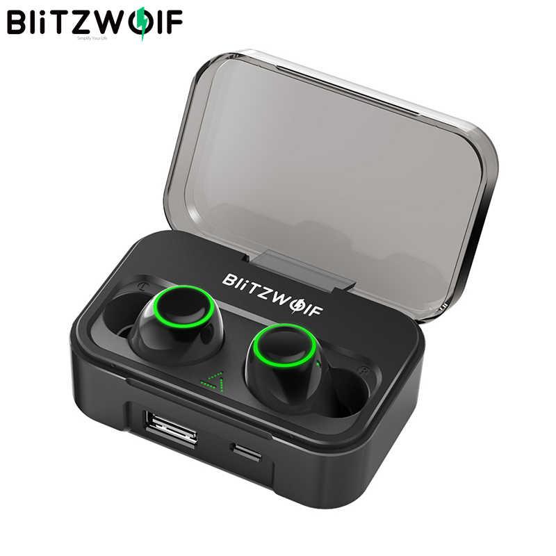 BlitzWolf FYE3S 3 TWS True Wireless Bluetooth 5.0 écouteur 2600mAh grande batterie affichage de puissance numérique Sport écouteurs