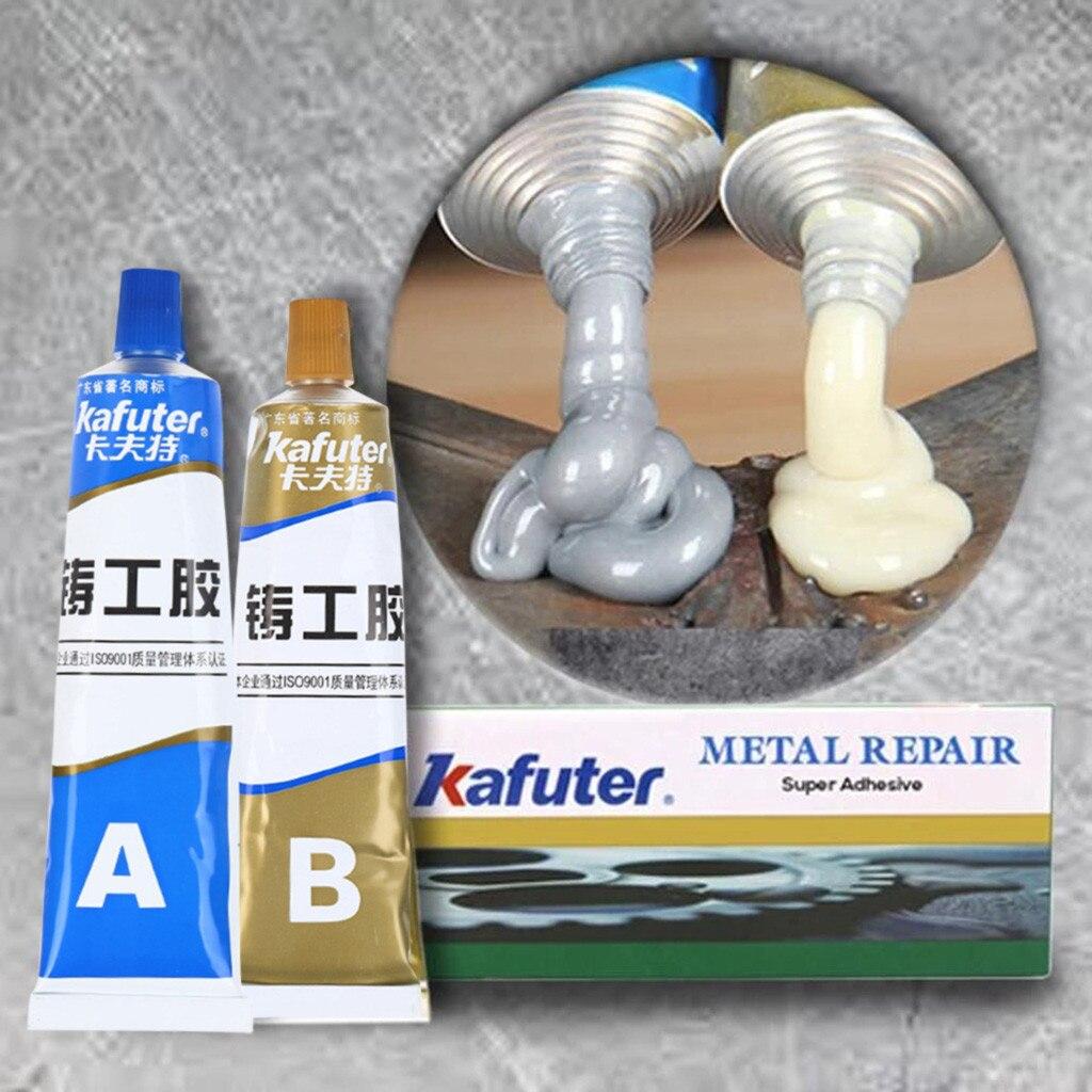 Industrial Heat Resistance Cold Weld Metal Repair Paste A&B Adhesive Gel