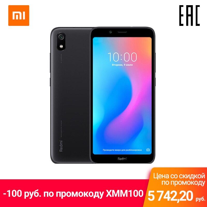 Smartphone Xiaomi Redmi 7A 2 GB + 16 GB Battery Powerful 8-core Fast Charge Nano-SIM MircoSD Micro USB Shipping From Russia