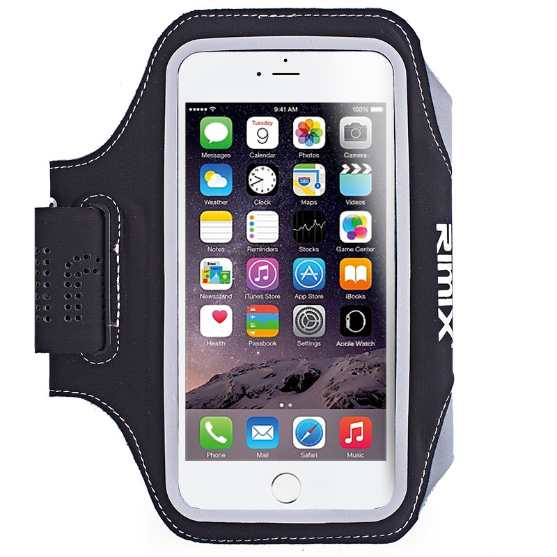 RIMIX Running Arm Bag Jogging Arm Bag Reflective Fitness Arm Set Running Equipment Press Screen Mobile Phone Bag Small