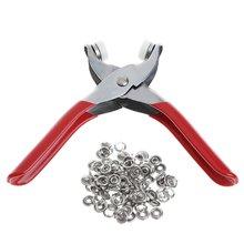 1 комплект 100 шт кольцо оснастка + металлический штырь оснастки