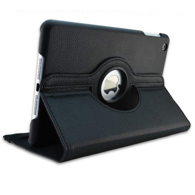 Black Black Case for Apple iPad pro 11 Case 2020 A2228 A2068 A2230 2nd 360 Degree Rotating Leather
