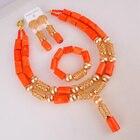 Orange Nigerian Wedd...