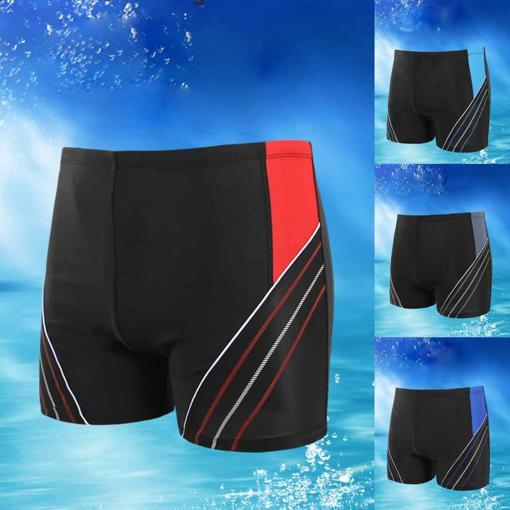 Monokini erkekler plaj alt ince nefes sandıklar pantolon hızlı kuru plaj mayo su geçirmez brezilyalı yüzme iç çamaşırı Tankini