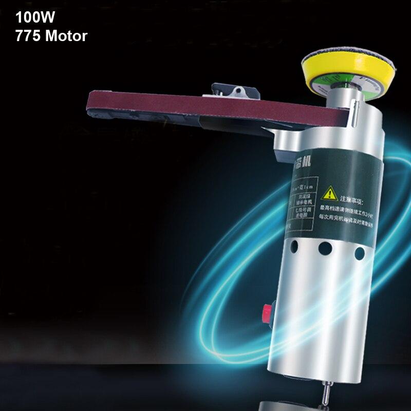 Handheld Winkel Schärfen Maschine Elektrische Gürtel Maschine Mini DIY Polieren Schleifen Maschine Feste Schleifen Maschine Bohrer Grinde