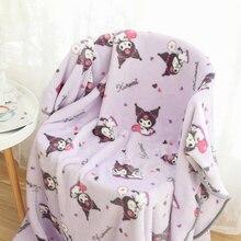 Японский фланель Одеяло теплые Одеяло Queen Размеры Kawaii кровать в стиле аниме, плед для дивана Flatsheet постельное белье, покрывало подарки для де...