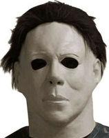 Маска «Майкл Майерс» 1978 страшные маски для вечеринки в честь празднования Хеллоуина полная голова взрослых Размер латексная маска причудл...