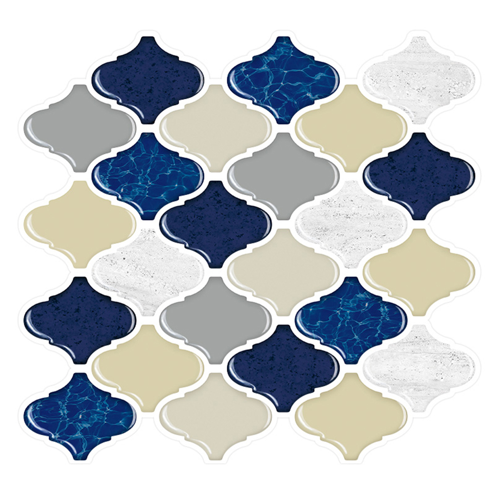 Free Shipping Cocotik Stick Backsplash Tiles for Bathroom and Kitchen 10.5x10 Peel Tile-Pack of 10 Pieces