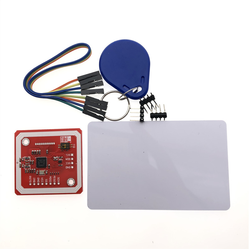 1 комплект PN532 NFC RFID Беспроводной модуль V3 пользовательские комплекты считыватель писатель режим IC S50 карта PCB Attenna I2C IIC SPI HSU для Arduino
