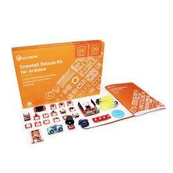 Elecrow DIY Programable educación Kit de aprendizaje Crowtail Deluxe Kit para Arduino con 20 módulo de sensores para la educación de los estudiantes