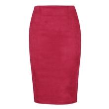 High Waist Office Lady Bodycon Skirts Saias