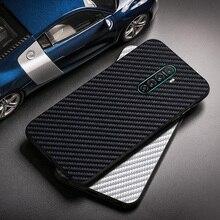 Realme X2 Pro Case Carbon Fiber Silicon Protective Phone Bumper For