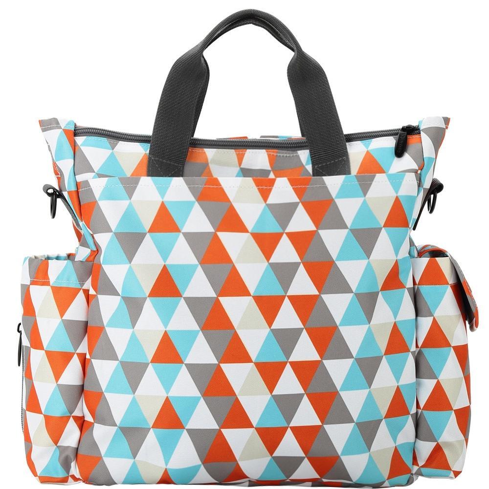 ChildKing Fashion Mummy Bag Waterproof Multi-Function Large Capacity Maternal and Infant Bag Women's Shoulder Bag Messenger
