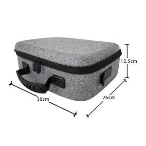 Image 2 - Чехол для путешествий, Жесткий Чехол, сумка для хранения для консоли Nintendo Switch и аксессуаров с 21 игровым картриджем