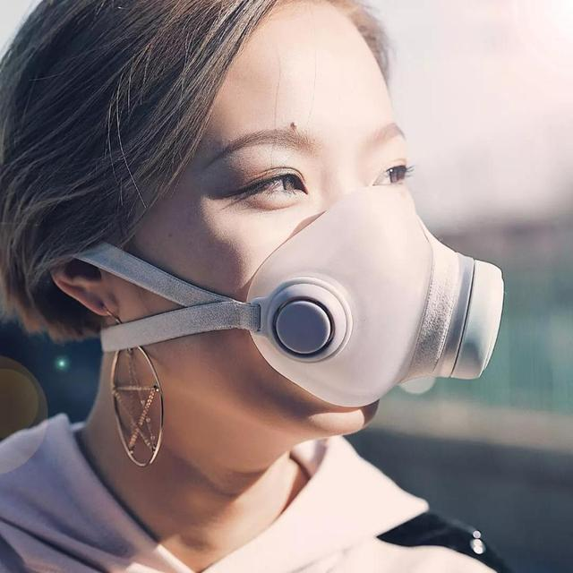 In Stock Fast shipping For Youpin Woobi Face Masks hepa filter Clean Breathing Block Dust PM2.5 Haze Anti-Pollution Masks 2