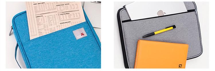 Multi funcional a4 documento sacos arquivamento bolsa
