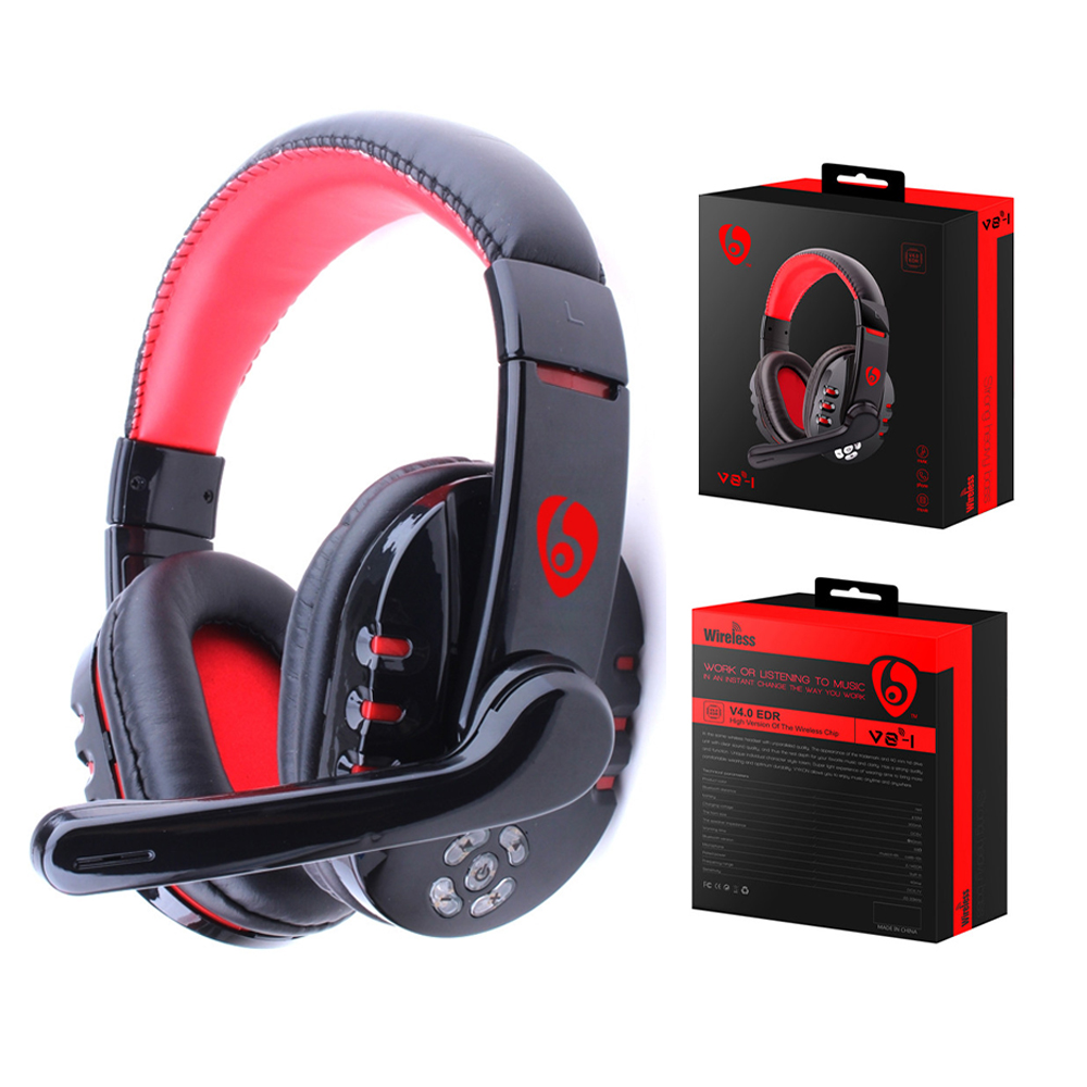Original V8-1 Pro Music Super Bass <font><b>Gaming</b></font> Headset casque Audio <font><b>Earphone</b></font> Light Headphone <font><b>with</b></font> <font><b>Microphone</b></font> for Computer PC gamer image