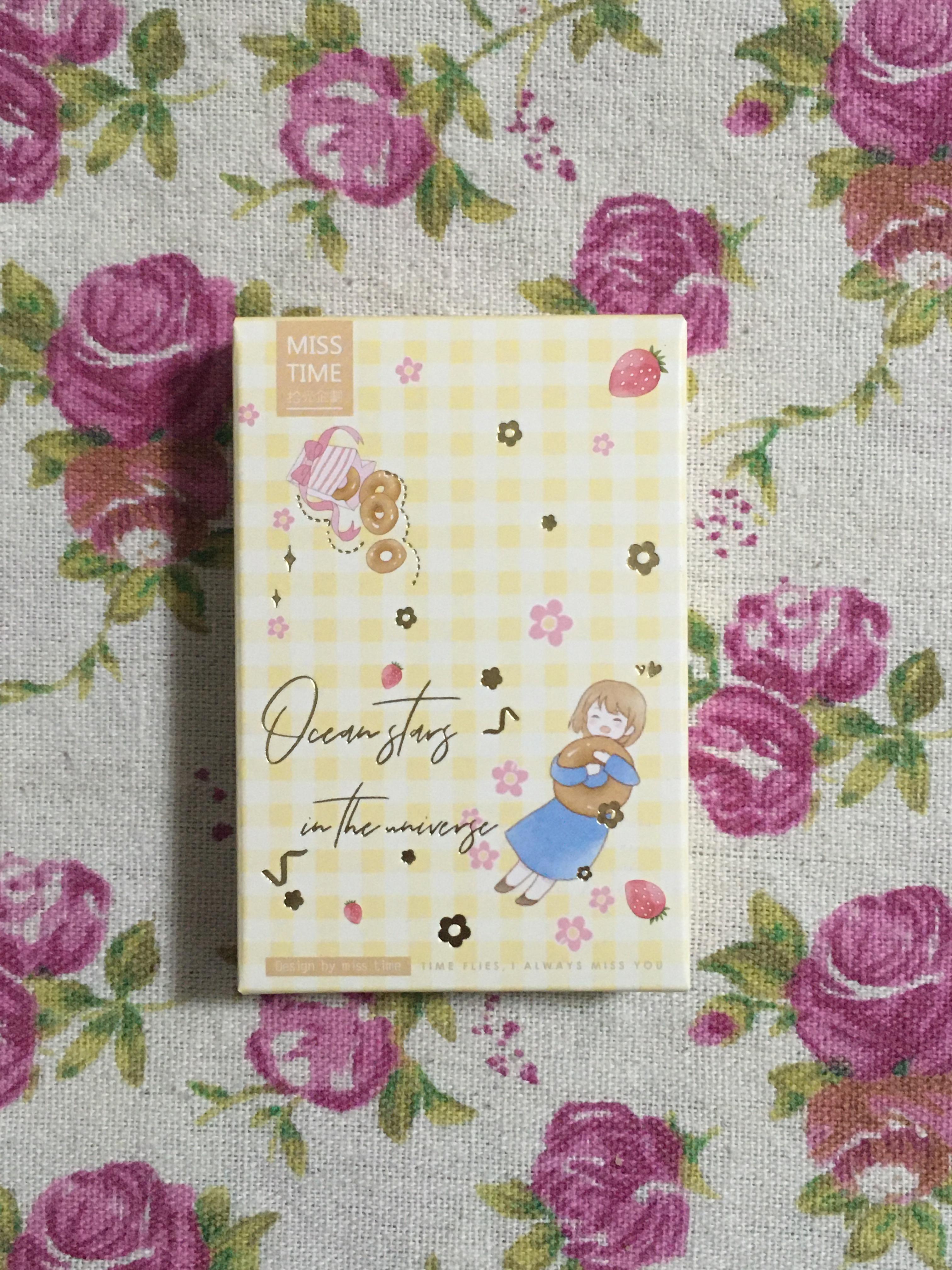 52mm*80mm Listen Well Paper Greeting Card Lomo Card(1pack=28pieces)