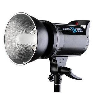 Image 2 - Godox DE300 300W Compact Studio Flash lumière stroboscopique éclairage lampe tête 300Ws 220V GN58 5600K