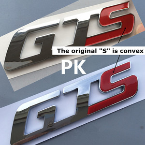 Image 4 - Gts q4 sq4 emblema emblema para maserati quattroporte ghibli levante tronco adesivo estilo do carro remontagem da cauda logotipo