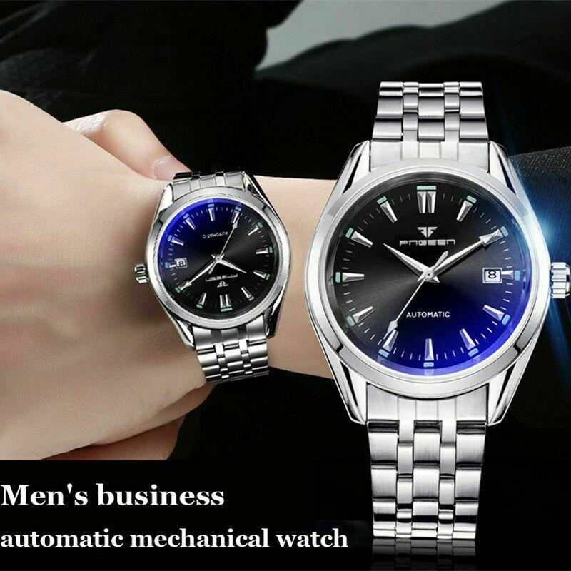 New Luxury Men Watches Self Winding Tourbillon Wristwatch Mechanical Watches