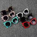 Детские летние аксессуары детские очки для мальчиков и девочек Защитные Уличные праздничные солнцезащитные очки в форме кота солнцезащитн...