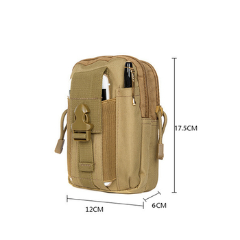 Outdoor Military Tactical Bag Waterproof Camping Waist Belt Bag Sports Army Backpack Wallet Pouch Phone Case For Travel Hiking 5