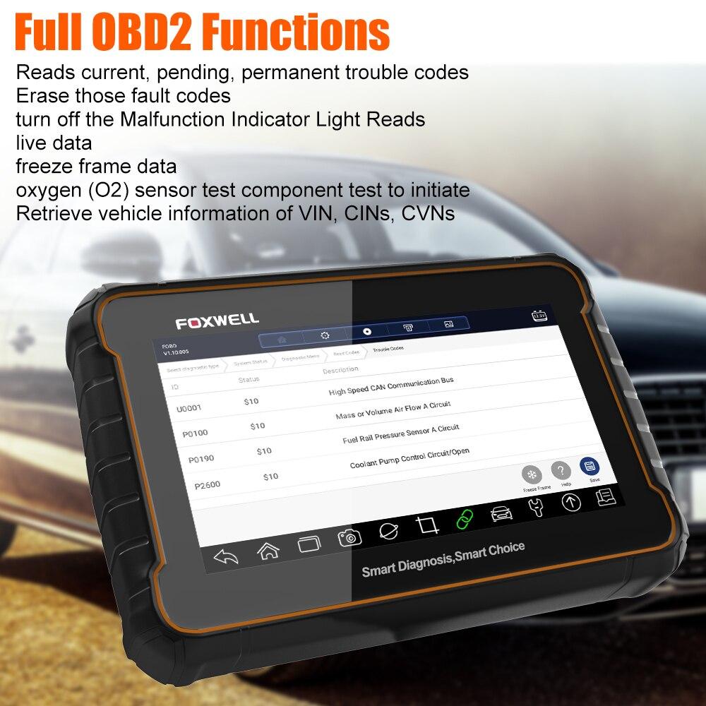 Foxwell GT60 Volle System OBD2 Scanner SAS EPB DPF TPS TPMS Öl Reset ODB2 OBD 2 Code Reader Auto Diagnose werkzeug OBD2 Scan Tool