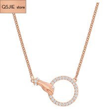 High Quality SWA New Lucky Hand Symbolic High Quality Necklace Original Girlfriend Luxury Romantic Necklace new original touch scr een pv037 lsk pl037 lsk high quality