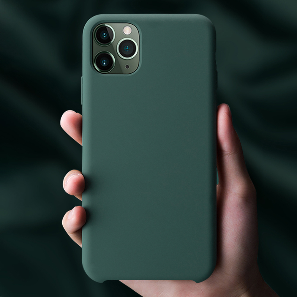Official Silicone <font><b>Case</b></font> For <font><b>iPhone</b></font> 11 Pro Max 11 Pro High Quality <font><b>Original</b></font> <font><b>Case</b></font> For <font><b>iPhone</b></font> 7 8 Plus X XR XS Max 6 <font><b>6S</b></font> Cover EEMIA image