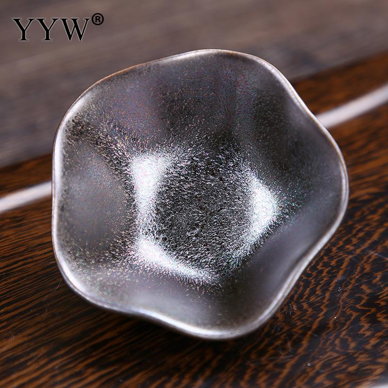 1pcs Creative Ceramics Teacups Chinese Kung Fu Tea Set Porcelain Tea Cup Tea Bowl Pottery Ceramic Cup Master Cup Drinkware in Teacups from Home Garden