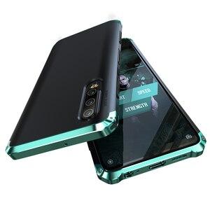 Image 2 - Leanonus Nhôm Kim Loại Ốp Lưng Dành Cho Huawei P30 Ốp Lưng P30 Pro Chống Sốc Full Cover Giáp Funda Cho Huawei P40 Pro ốp Lưng P40