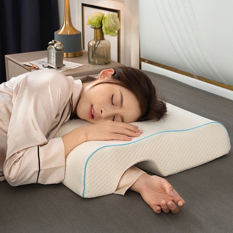 Couples Pillow Arched Cuddle Rebound Memory Pillow With Slow Foam For Arm Rest Hand Pillow DC120
