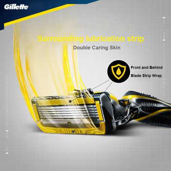 Men Manual Shaver Razors Machine for Shaving Blades Gillette Fusion Proshield Razor Blades Straight Razor Replacement Heads