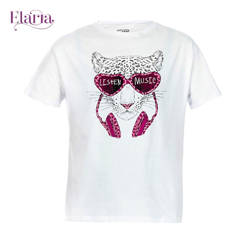 цена на T-Shirts Elaria Tsg-15-1 children's clothing t-shirt for boys for girls clothes