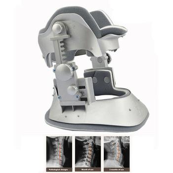 Medyczne Schubert Chubert szyjki macicy urządzenie trakcyjne orteza szelki szyi Brace kołnierz ulga w bólu gospodarstwa domowego tanie i dobre opinie pcmos 17092128 Braces Supports