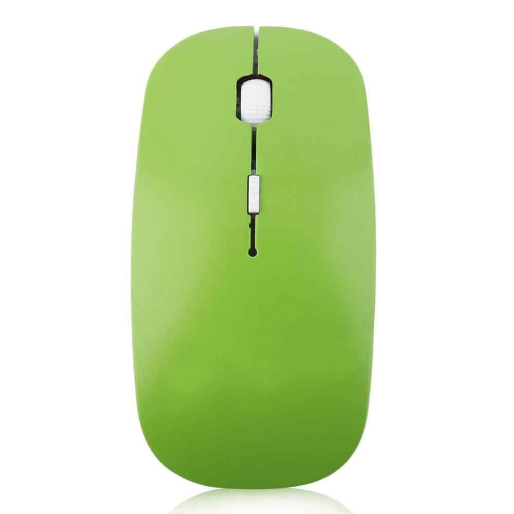 Gorąca sprzedaż 2.4GHz bezprzewodowa mysz optyczna 4 klucze komputerowe myszki komputerowe USB 2.0 ergonomicznie zaprojektowana Ultra szczupła moda mysz