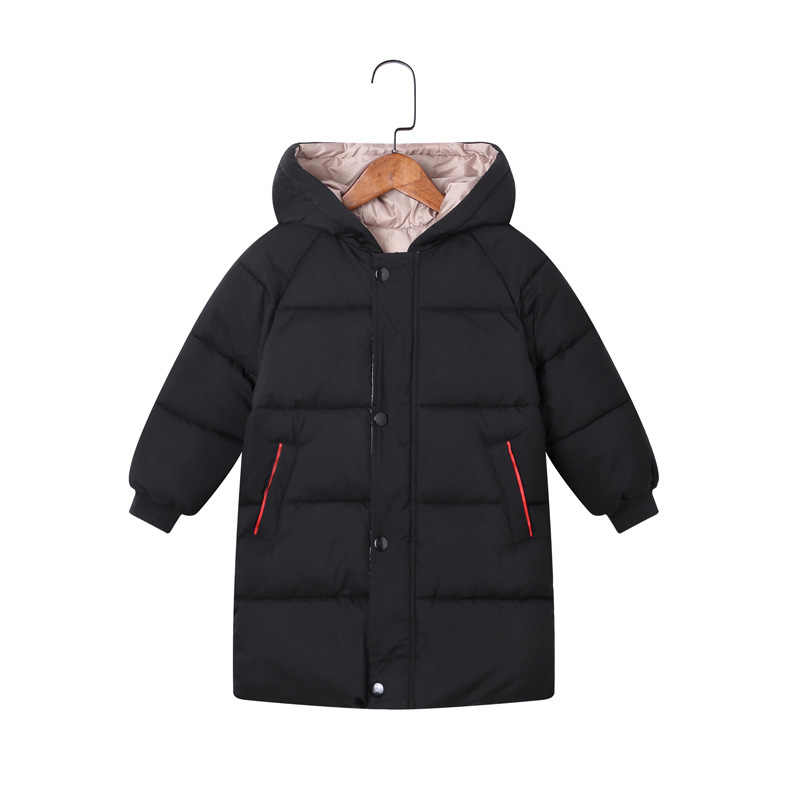 DIMUSI חורף בני מעילי ילד ילדים עבה חם מעיילי סלעית מעילי תינוק בנות אמצע ארוך להאריך ימים יותר מעיל רוח מעילי בגדים