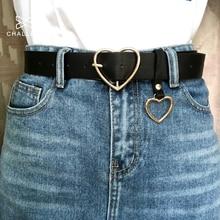 105 см модные женские ПУ кожаный пояс женский милый черный харадзюку ремень женские брюки вечерние платья ремни сердца для джинсов 149