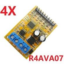 4x 5V/10V 7ch RS485 Analog Spannung Sampler ModBus RTU Bord für ADC 0 20ma 4 20ma Sensor